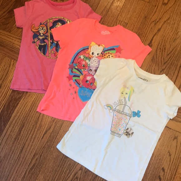 Shopkins Other - Girls T-shirts-  3 shirts!!
